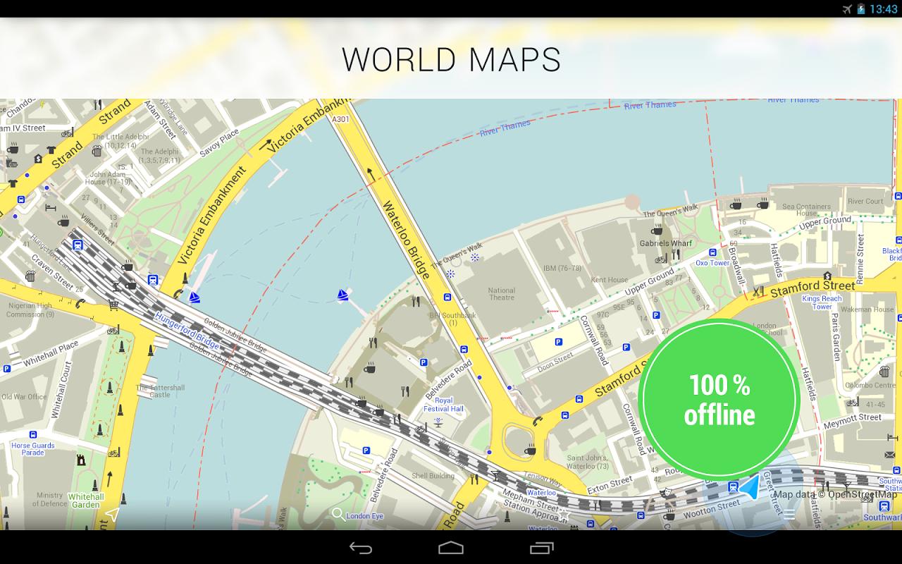 MAPS.ME —Offline Mapas screenshot 1