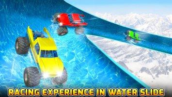 Water Slide Monster Truck Race Screen