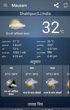 Mausam - Gujarati Weather App 5 2 Download APK for Android