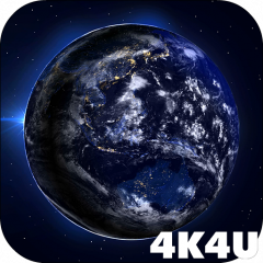 4k Earth From Space Wallpaper 1 1 Telecharger L Apk Pour Android