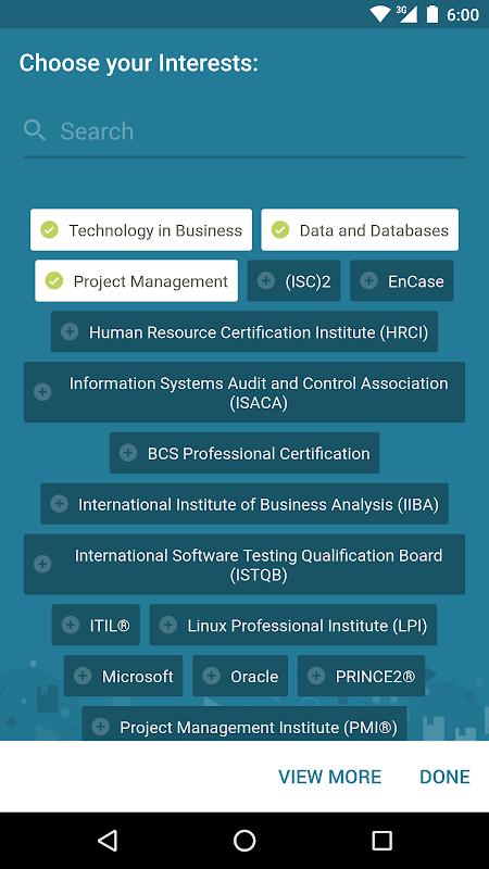 Skillsoft Learning App screenshot 1