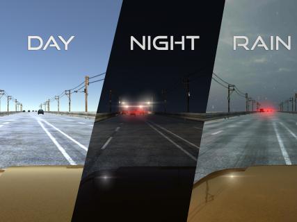 VR Racer - Highway Traffic 360 (Google Cardboard) screenshot 5
