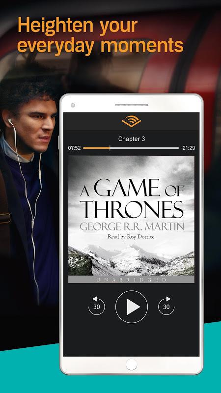 Audiobooks from Audible screenshot 2