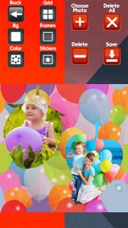Balloons Photo Collage screenshot 2