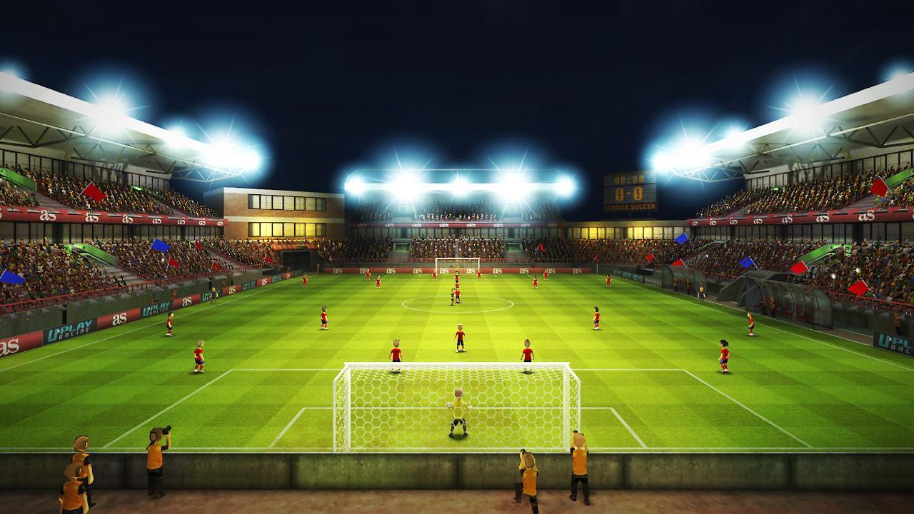 Striker Soccer Euro 2012 screenshot 1