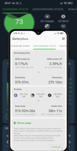 Battery Guru - Battery Monitor - Battery Saver screenshot 7