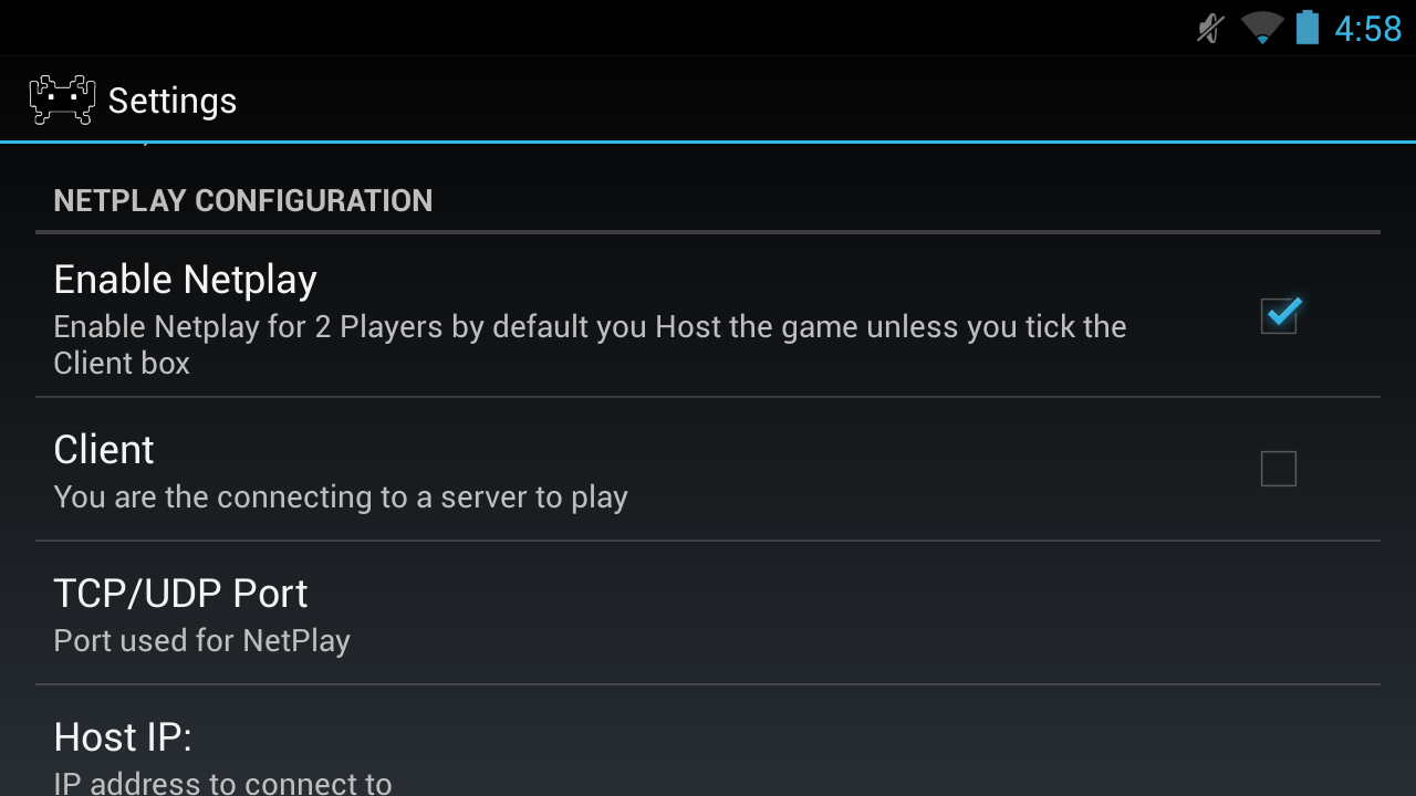 RetroidNetplay screenshot 1
