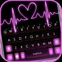 Pink RGB Heart Keyboard Theme
