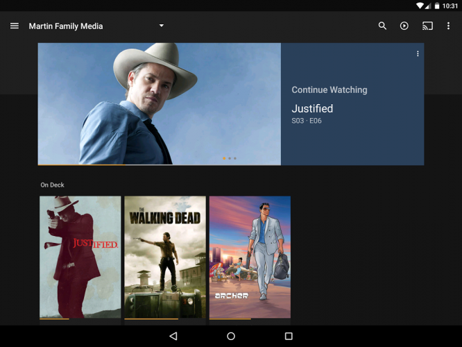 Plex: Stream Movies, Shows, Music, and other Media screenshot 6
