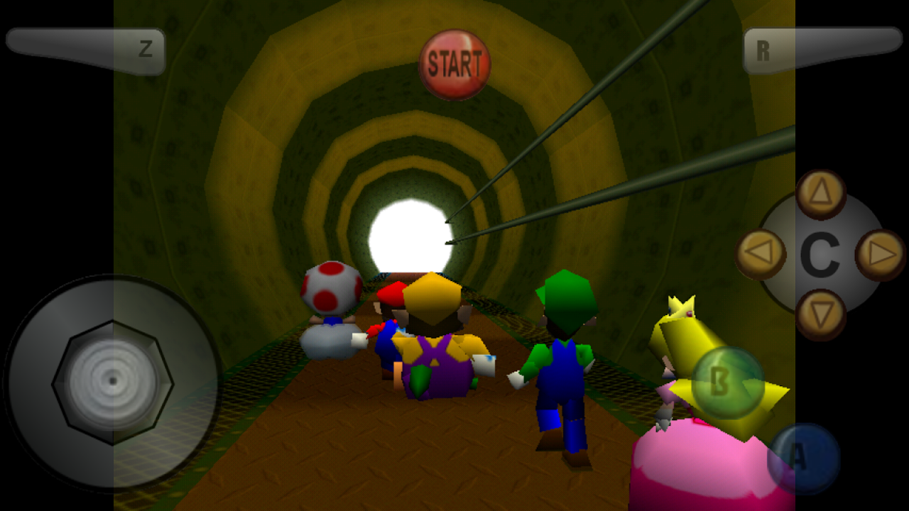 N64 Emulator - N64 Collection - Mupen64 DroidX screenshot 1