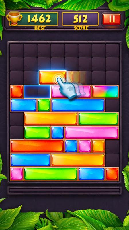 Dropdom - Jewel Blast screenshot 1