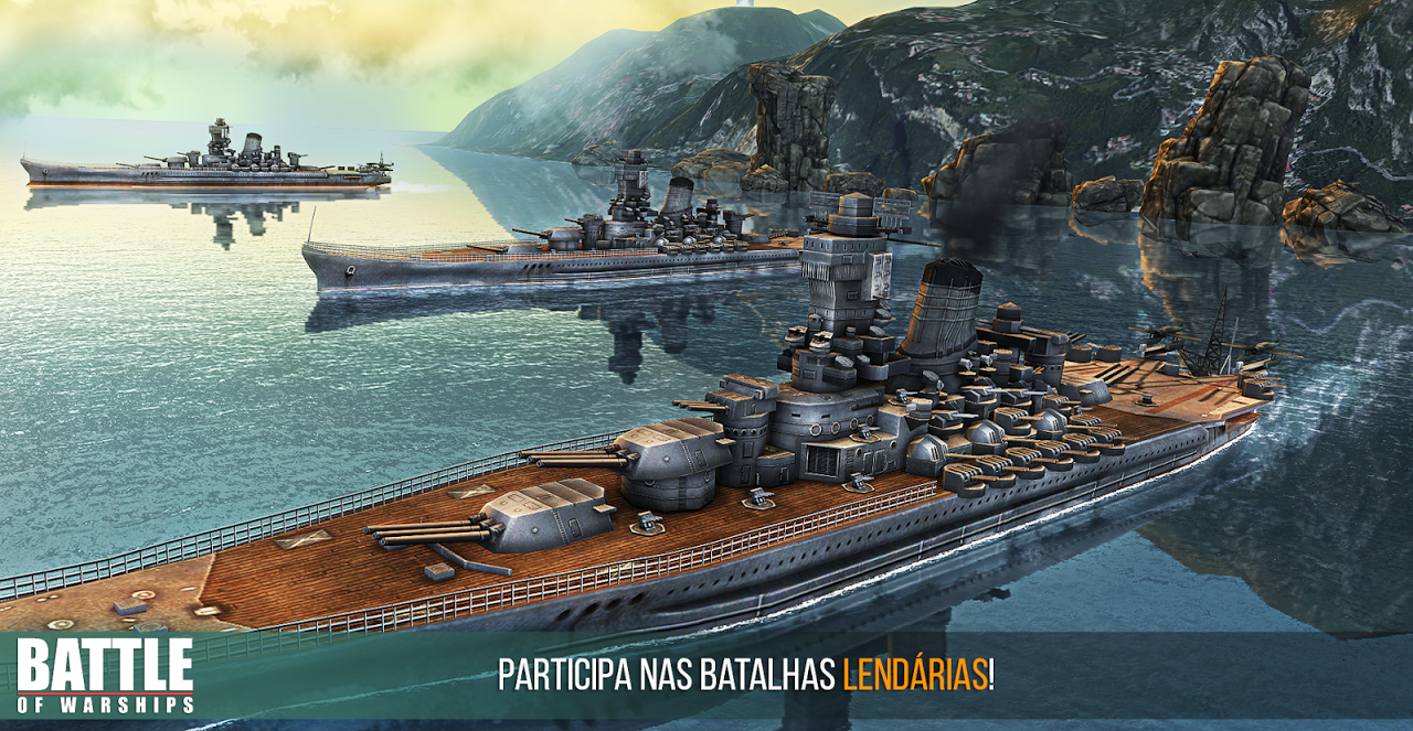 Battle of Warships: Naval Blitz screenshot 2