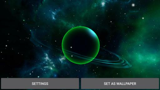 3D Solar System LWP screenshot 10