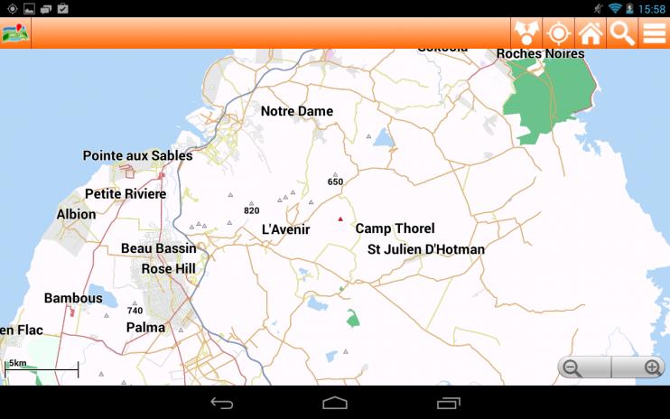 Carte Ile Maurice Hors Ligne 1 13 Telecharger L Apk Pour Android