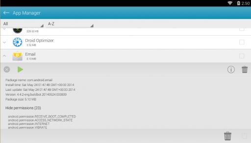 Droid Optimizer screenshot 2