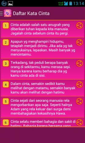 Kata Kata Mutiara Cinta 1 3 Download Apk For Android Aptoide