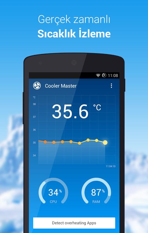 android telefon soğutma programı