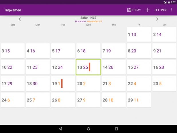 Hijri Calendar - Taqwemee 4 0 6 Download APK for Android