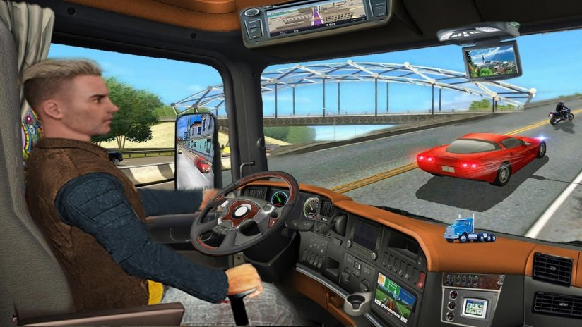 Real Driving Games >> Truck Games Real Driving In Truck Simulator 1 0 3