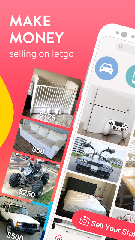 letgo: Buy & Sell Used Stuff, Cars & Real Estate screenshot 1