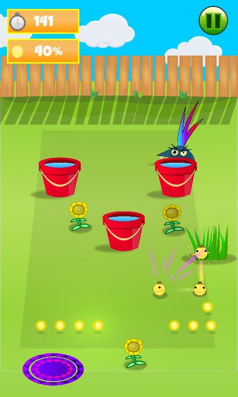 Garden Rush: Run & Catch screenshot 1