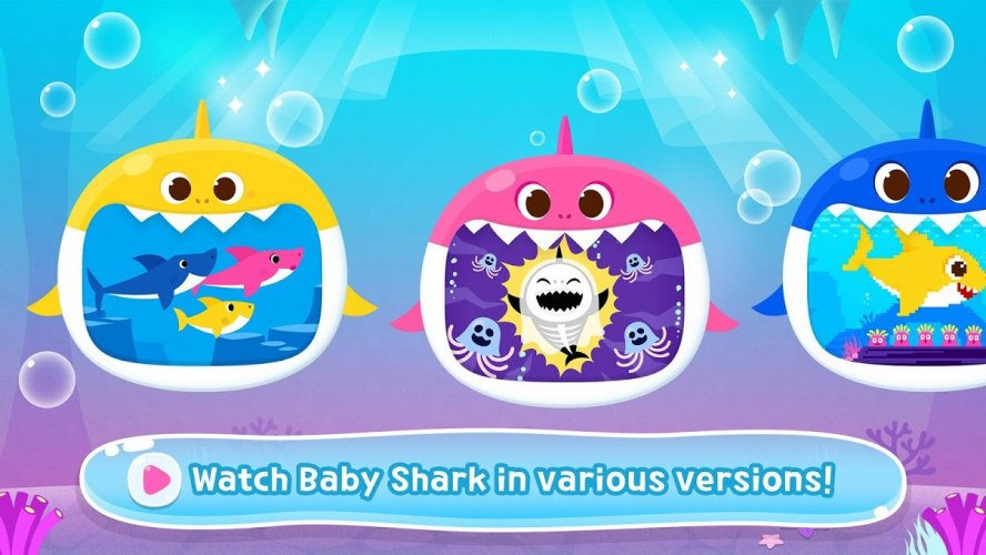 Details about  /PINKFONG  Baby Shark Boston Beach bag blue cross//tote