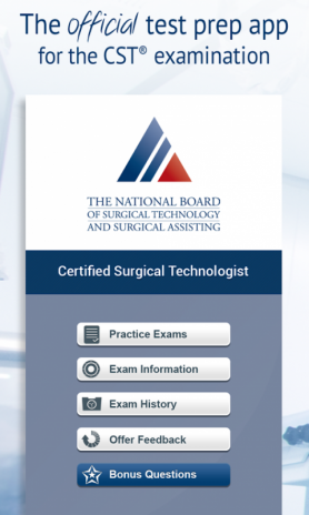 Official NBSTSA CST Exam Prep 1 5 Download APK for Android - Aptoide
