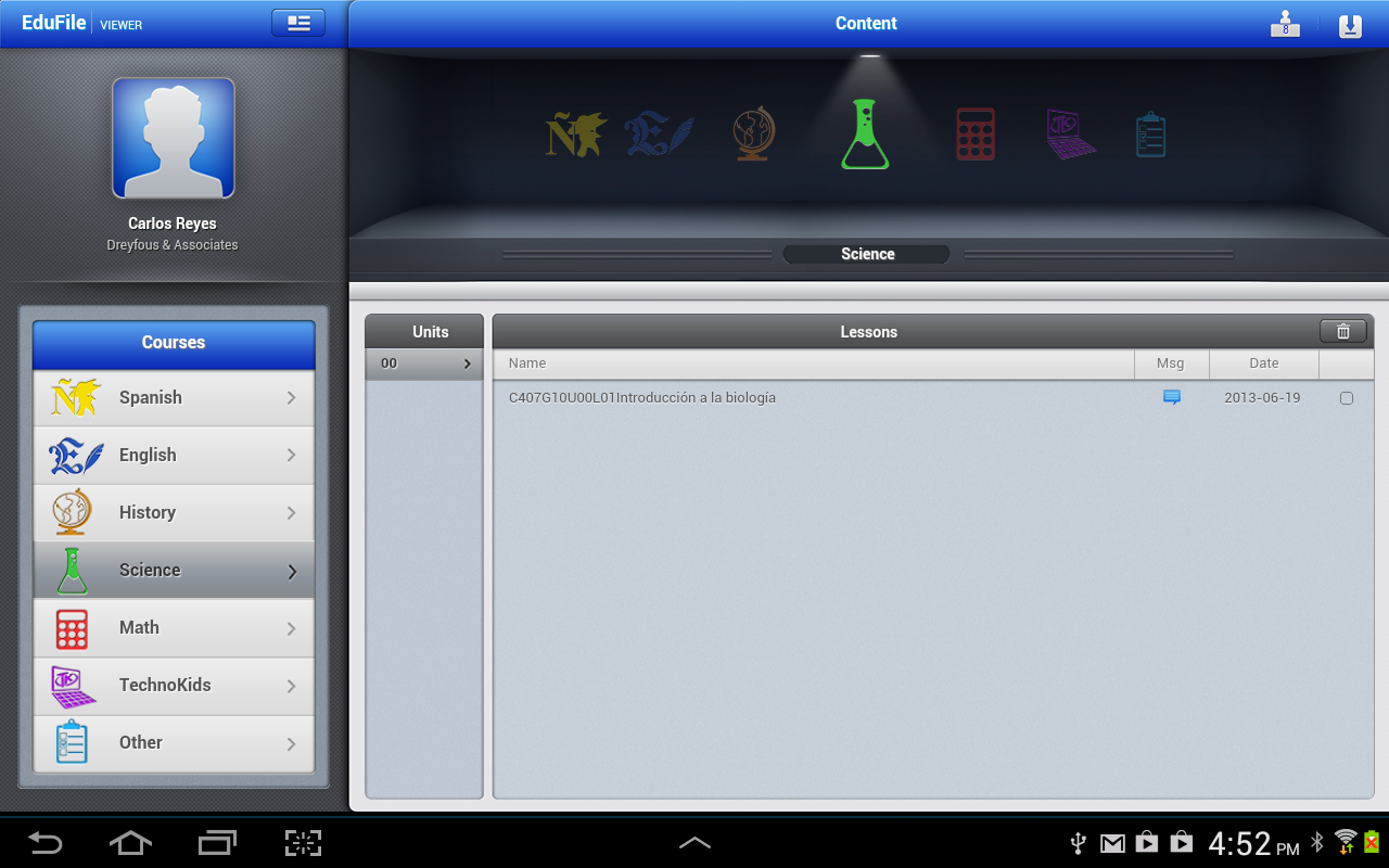 EduSystem Viewer screenshot 2