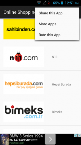 Online Shopping Turkey 1 0 Download APK for Android - Aptoide
