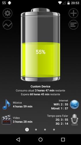 Bateria HD - Battery screenshot 1