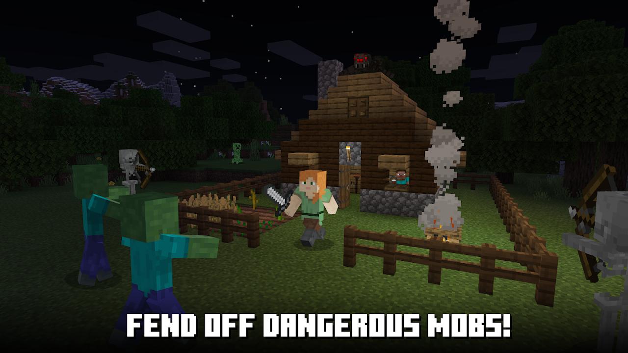 Minecraf Pocket Edition screenshot 1