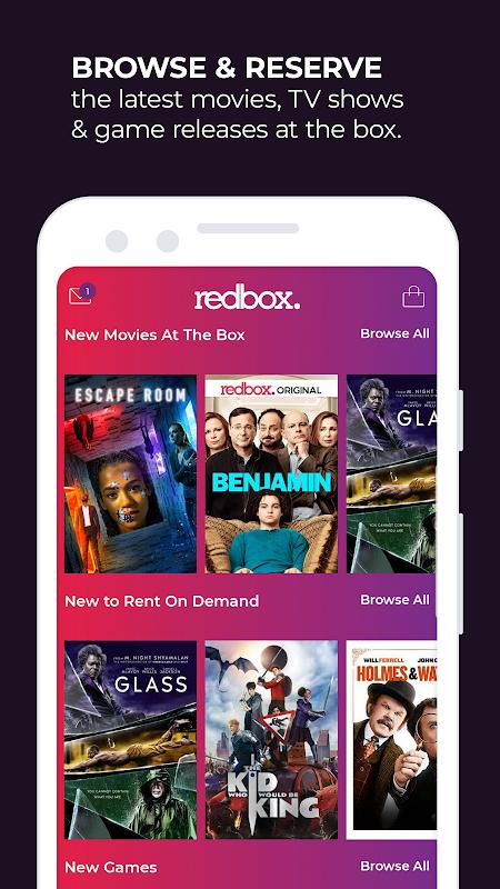 Redbox – Rent, Watch, Play screenshot 1