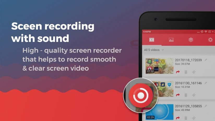 บันทึกวีดีโอหน้าจอพร้อมเสียง 2 0 7 ดาวน์โหลด APKสำหรับแอนดรอยด์- Aptoide