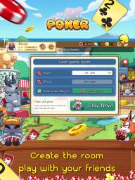 Dummy & Toon Poker Texas slot Online Card Game screenshot 4
