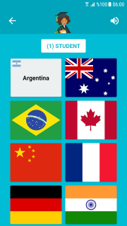 Flags and Capitals of the World Quiz screenshot 4