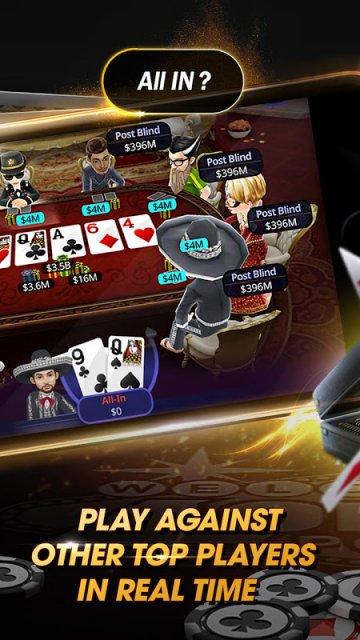 4 ones poker holdem