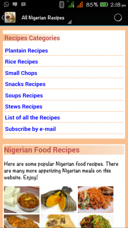 All nigerian food recipes 10 download apk for android aptoide all nigerian food recipes screenshot 1 all nigerian food recipes screenshot 2 forumfinder Choice Image