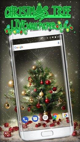 christmas tree wallpapers live free animated screenshot 1 ...