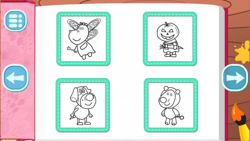 Juegos para niños: Libro de colorante 1.0.2 Descargar APK para ...