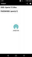 WiFi Hotspot Widget Screen