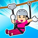 Zipline Rescue Adventure - Sky Rope Puzzle