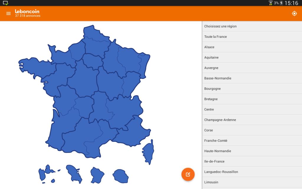 Leboncoin petites annonces download apk for android for Le bon coin ameublement corse