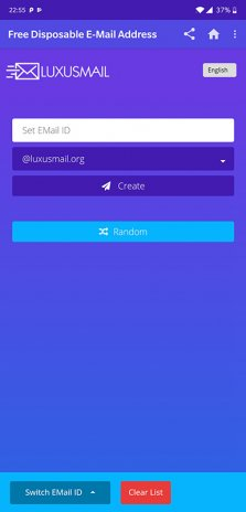 LuxusMail - Free Disposable Email Address 2 2 Download APK for