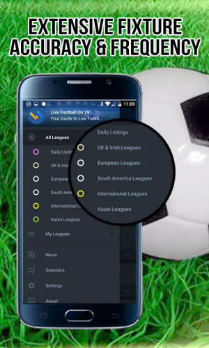 Live Football On TV (Guide) 2.0.7.7 Download Android APK | Aptoide