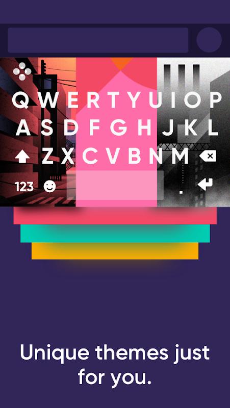 Fleksy: Fast Keyboard + Stickers, GIFs & Emojis screenshot 4