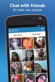 Eskimi. Meet People, Chat, Fun screenshot 1