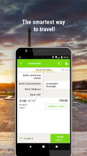 FlixBus - Bus Travel in Europe screenshot 7