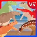 T-Rex Fights Dinosaurs
