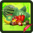Spelling Game - Fruit Vegetable Spelling learning
