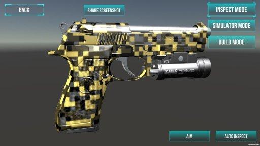 3D Ultimate Gun Simulator Builder screenshot 7
